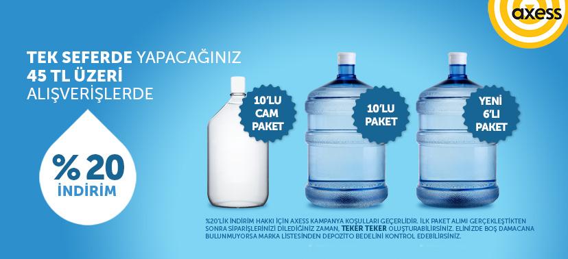 Axessle ön ödemeli paket kampanyası
